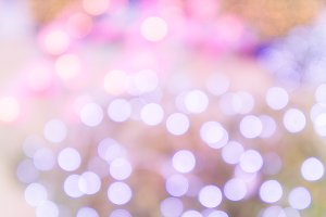 Abstract bokeh color background
