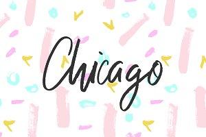 Chicago Handwritten Typeface