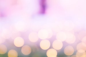 Abstract bokeh pink color background