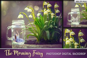 Morning Fairy Backdrop