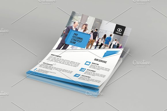 Corporate Flyer Template V574