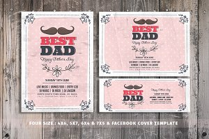 Fathers Day Flyer | 1 Get Two Free