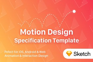 UI Motion Design Specs Template