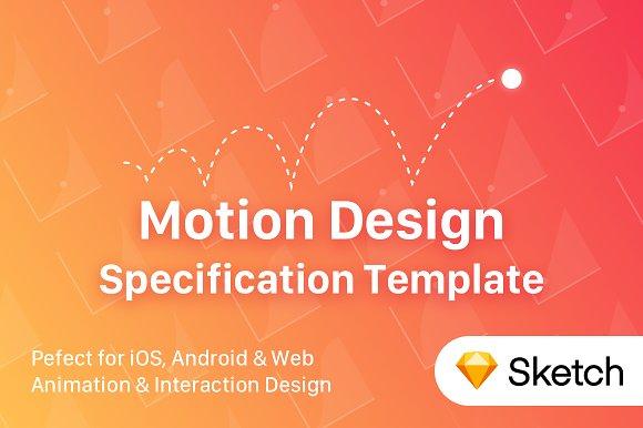 UI Motion Design Specs Template