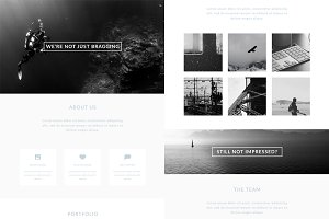 1st Impressions - Portfolio Template