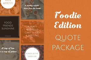 Social Media Quotes - Foodie Edition