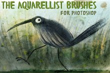 The Aquarellist Brushes (PS CS6+)