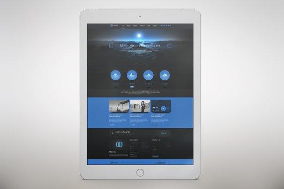 Apple IPad Pro 2017 App MockUp