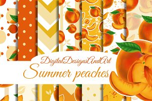 Sweet peaches paper pack