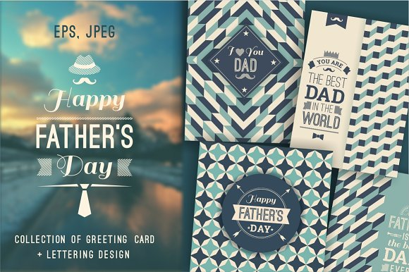12 Greeting Cards For Father's Day