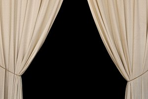 Open Curtains Drapes