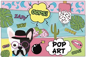 POP ART cards