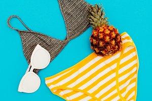 Beach outfit Beach accessories.