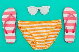 Beach Style. Beach accessories.