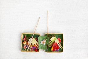 Balinese hindu offering
