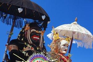 Balinese spirit Barong Landung
