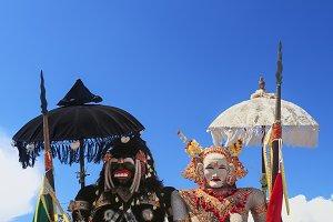 Balinese spirits Barong Landung