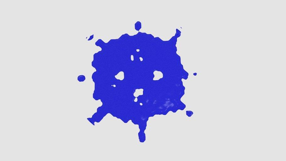 Cube Sphere Splash Splatter