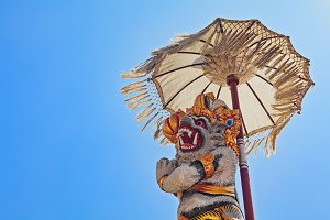 Traditional Balinese spirit