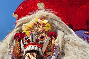 Balinese Rangda mask
