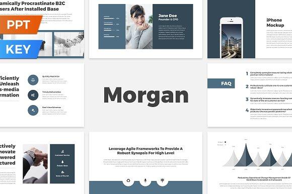 Morgan Presentation Template