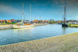 Dutch fishing village, Marken