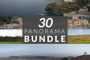 30 panorama photos bundle
