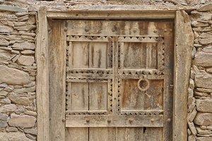 Hand crafted berber style door