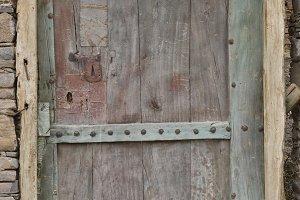 Small wooden berber door