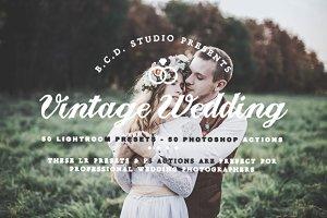 Vintage Wedding LR Presets