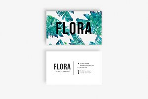 The Flora | Business Card Template