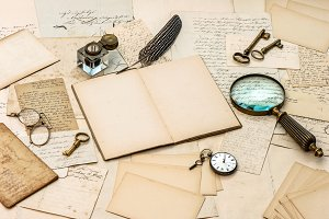 Antique Handwritten Letters