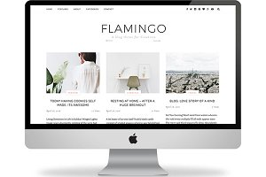 Flamingo Responsive Wordpress theme