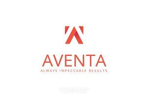 Aventa Letter A Logo Template