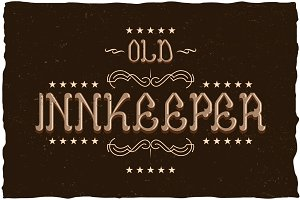 Innkeeper Vintage Label Typeface