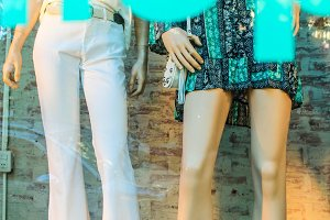 Mannequin Cloth Background