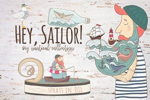 Hey,Sailor!Nautical collection