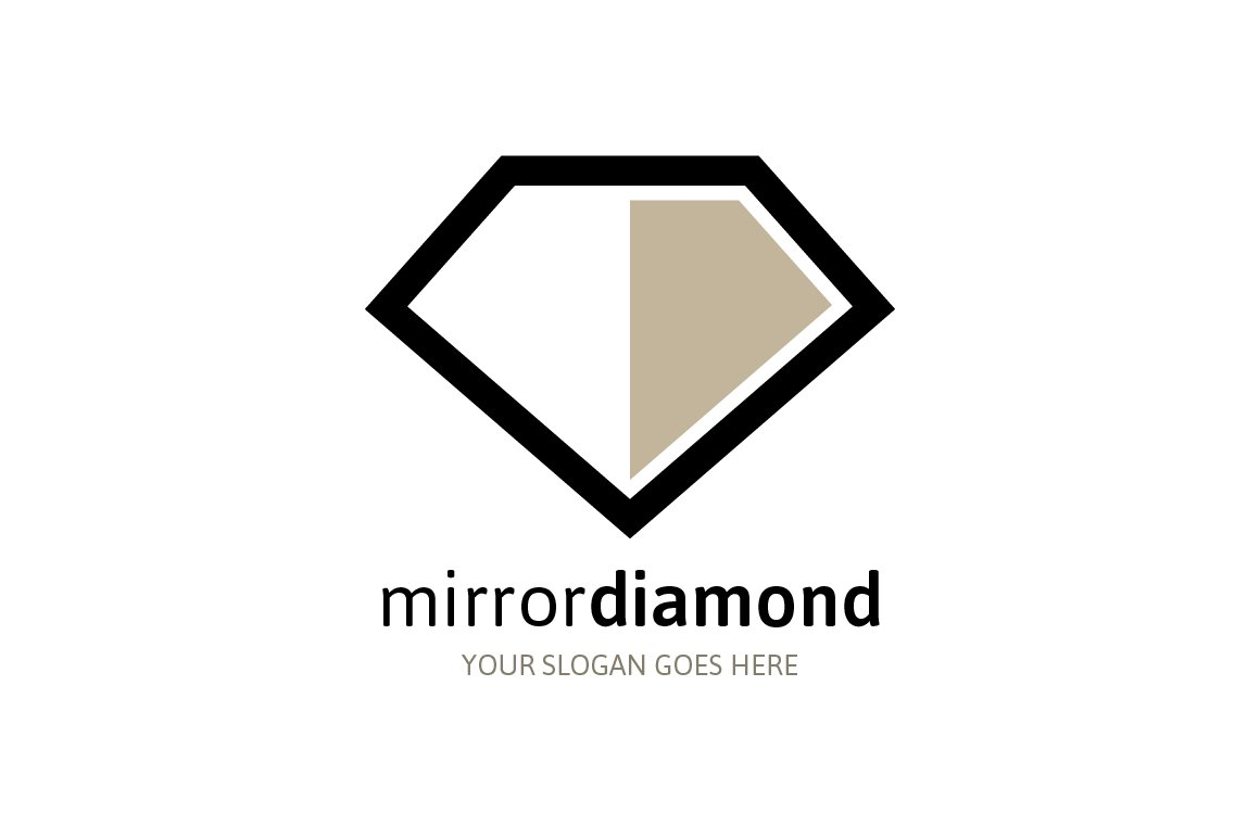 template vector royalty free diamond image logo