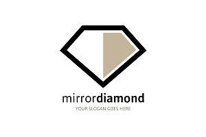 Mirror Diamond Logo