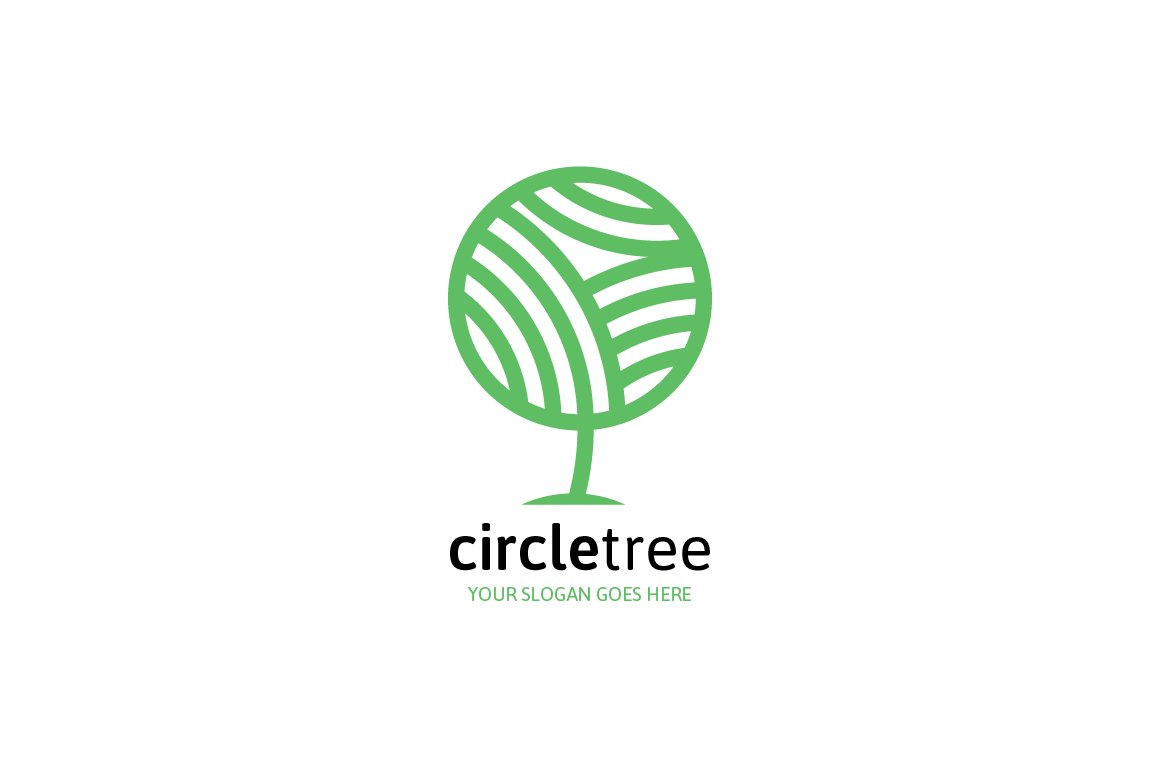 Circle Tree Logo ~ Logo Templates ~ Creative Market
