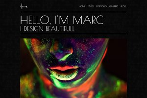 Arcon - Portfolio WordPress Theme