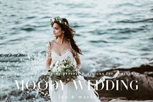 240+ Moody Wedding Photoshop Kit