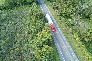 Lorry carry cargo