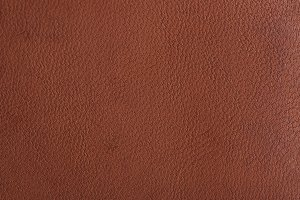 Brown leather texture close-up
