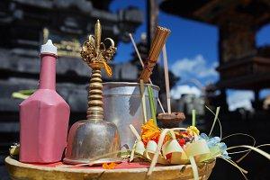 Balinese hindu temple details