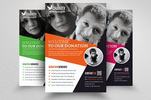 Charity & Donation Flyer