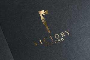 Victory Record Logo designs Template