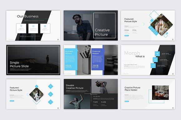 Magic Morph Powerpoint Template ~ Presentation Templates ~ Creative ...