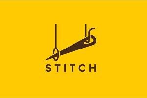 Simple Stitch Logo Template
