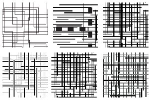 12 squares backgrounds